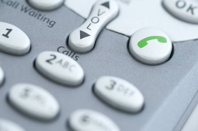 Fotoquelle: telephone control buittons - www.stockmedia.cc