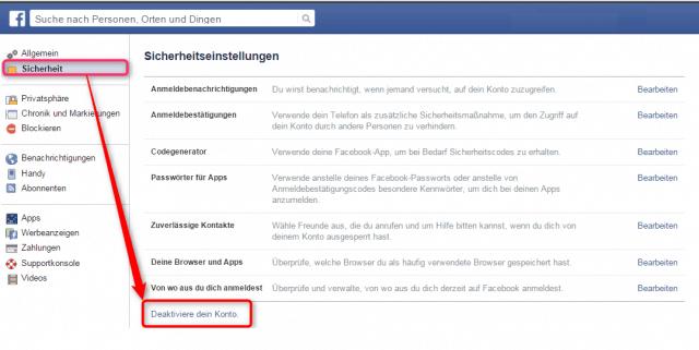 facebook_Sicherheitseinstellungen