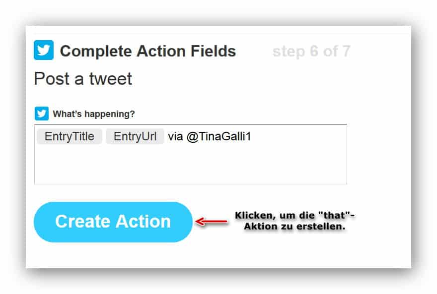 IFTTT That-Action