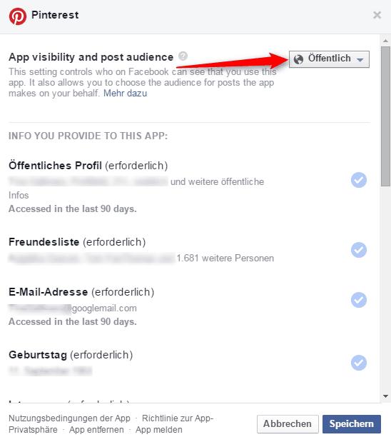 Pinterest_Einstellung_bei_Facebook