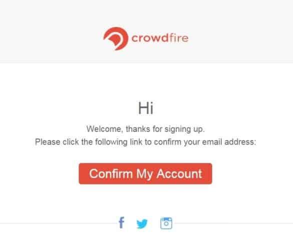 crowdfire-emailadresse-bestaetigen