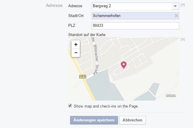 facebook_adresse_eintragen
