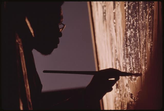 Fotoquelle: Ron Blackburn Painting in Chi- City - www.nos.twnsnd.co